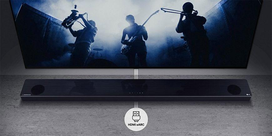 Саундбары LG с технологиями Meridian и поддержкой Dolby Atmos