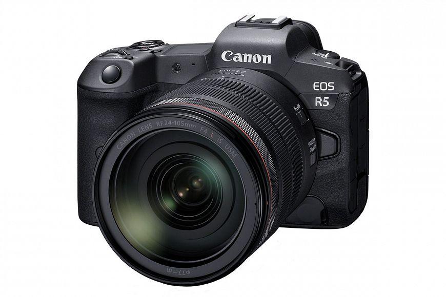 Беззаркальная камера Canon EOS R5