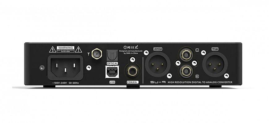 S.M.S.L SU-9 — USB-ЦАП на ESS Sabre с поддержкой MQA