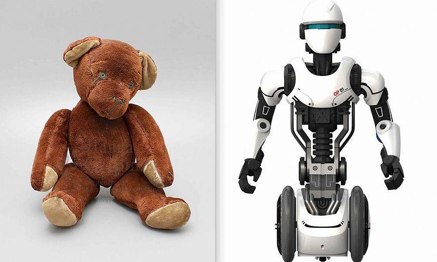 7. Плюшевая игрушка / Робот