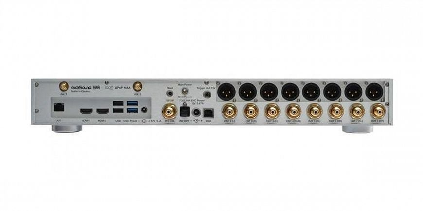 exaSound s88 — стример и ЦАП с восемью дискретными каналами