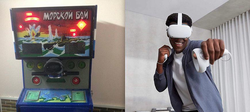 9. «Морской бой» / Игра в виртуальной реальности
