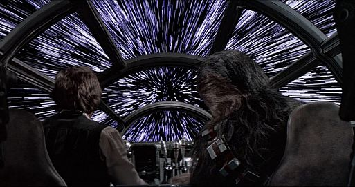 Окна кабины «Тысячелетнего Сокола» – «Звездные войны» (1977)