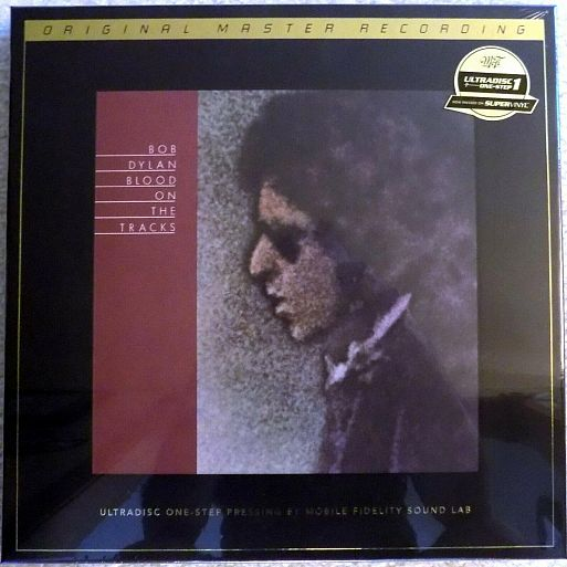 Bob Dylan «Blood On the Tracks» Hand-Numbered Limited Edition SuperVinyl