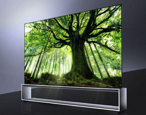 1. 8К OLED-ТВ начнут массово выходить на рынок