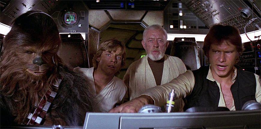 1. Звездные войны. Эпизод IV: Новая надежда / Star Wars: Episode IV - A New Hope (1977)