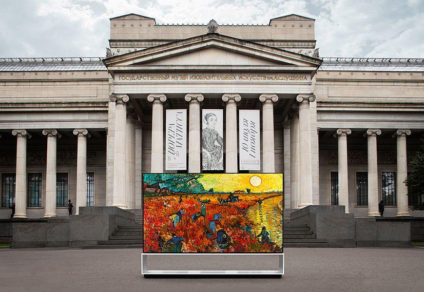 Совместный проект «LG SIGNATURE x Пушкинский музей» развивается