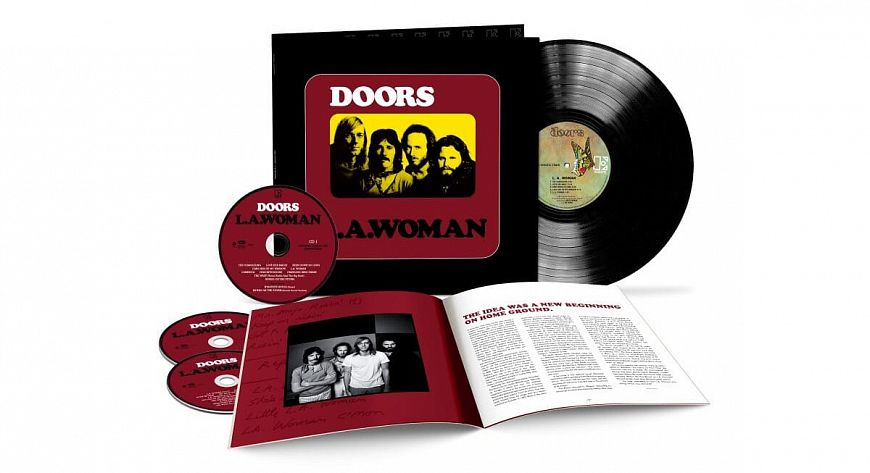The Doors – L.A. Woman: 50th Anniversary Deluxe Edition