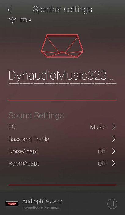 Приложение Dynaudio Music App