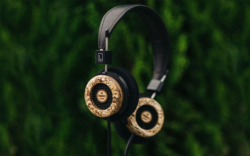 7. Grado Hemp Headphone