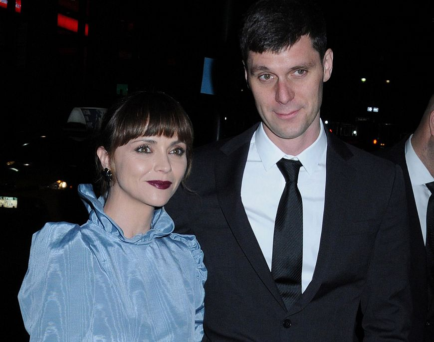 Кристина Риччи и Джеймс Хирдеджен