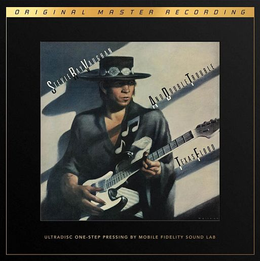 Stevie Ray Vaughan and Double Trouble «Texas Flood» Numbered Limited Edition SuperVinyl