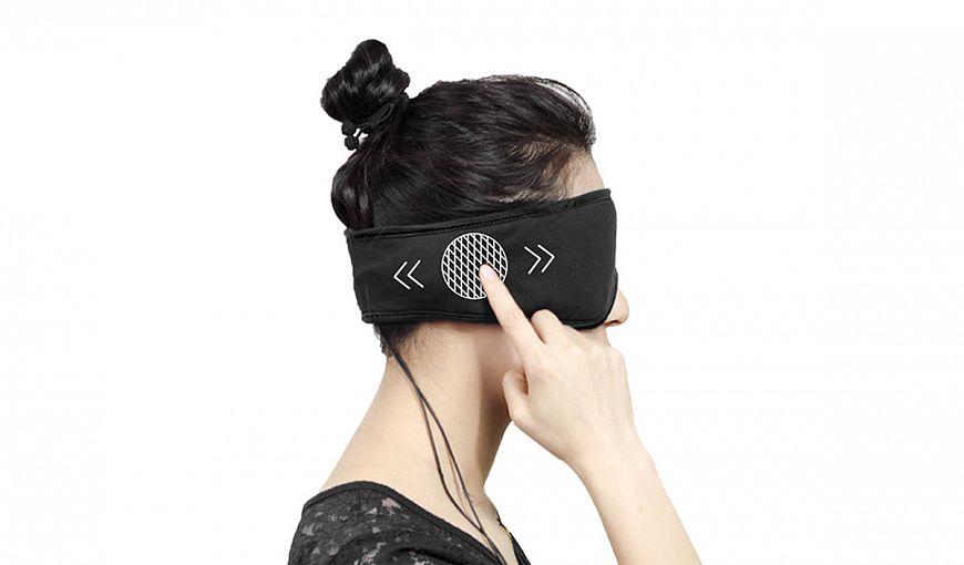 Маска-наушники для сна SleepAce Smart-headphone