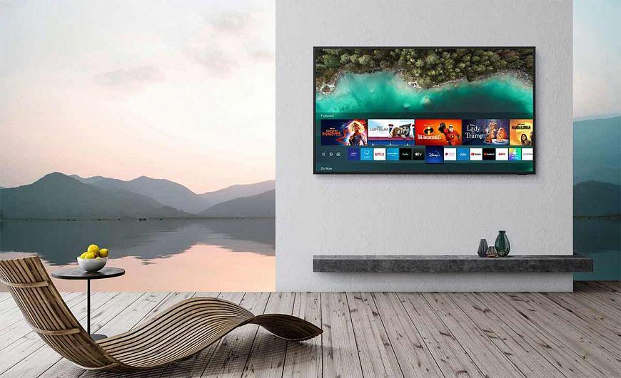 Всепогодные QLED-телевизоры и саундбары Samsung The Terrace