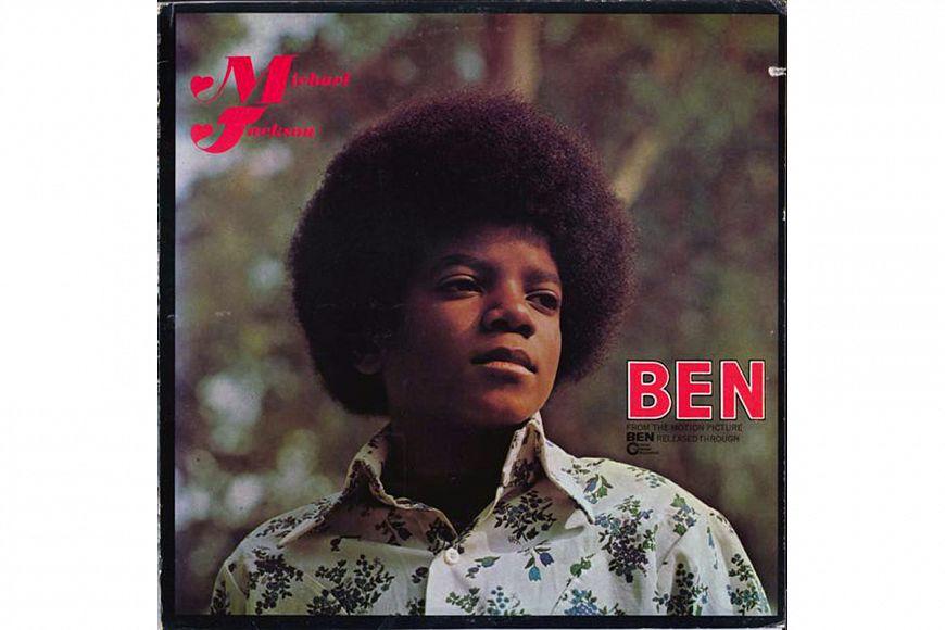 "Michael Jackson ""Ben"" (1972) Motown Records"