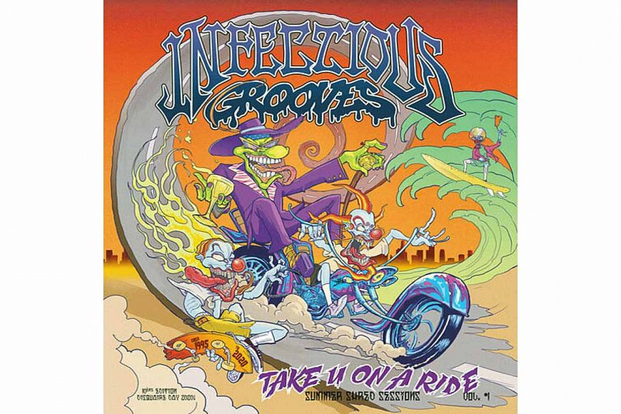 Infectious Grooves «Take You On A Ride»