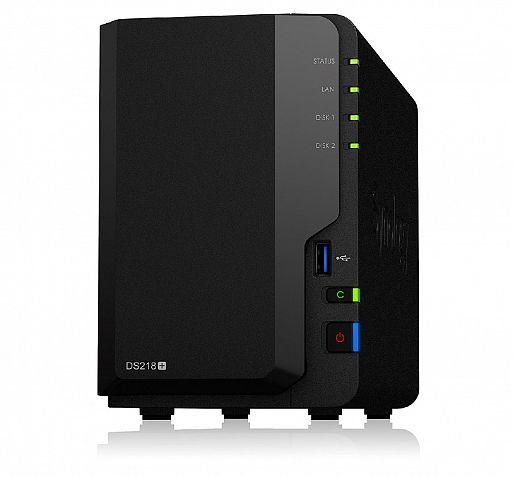 Сервер NAS Synology DS218+