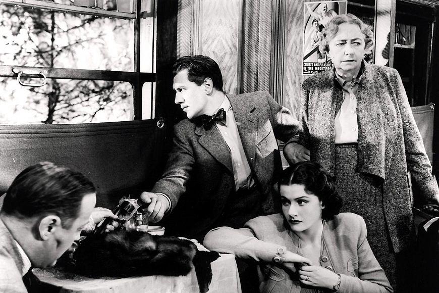 10. Леди исчезает / The Lady Vanishes (1938)