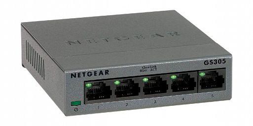 Сетевой свич Netgear GS305
