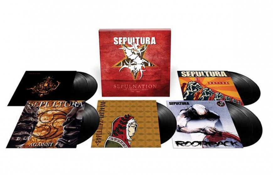 Sepultura «Sepulnation: The Studio Albums 1998 – 2009»