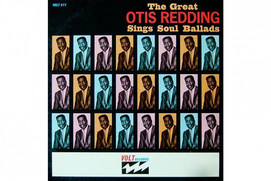 "Otis Redding ""The Great Otis Redding Sings Soul Ballads"" (1965) Volt/ATCO"