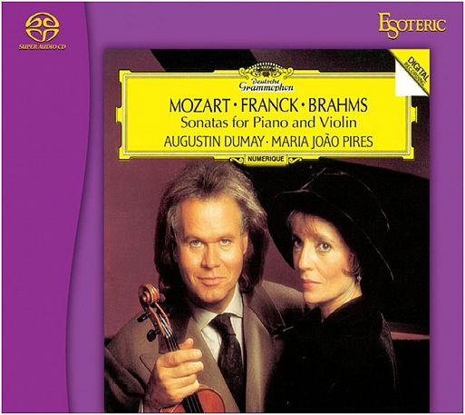 Esoteric SACD «Сонаты для фортепьяно и скрипки (Sonatas for Piano & Violin)»