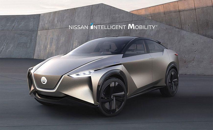 Технологии Nissan Intelligent Mobility из городов будущего