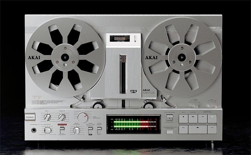 Катушечный магнитофон Akai GX-77