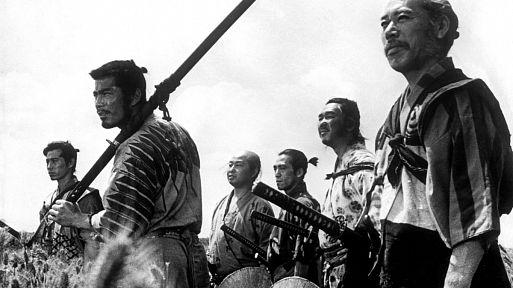 2. Семь самураев / Shichinin no samurai (1954)