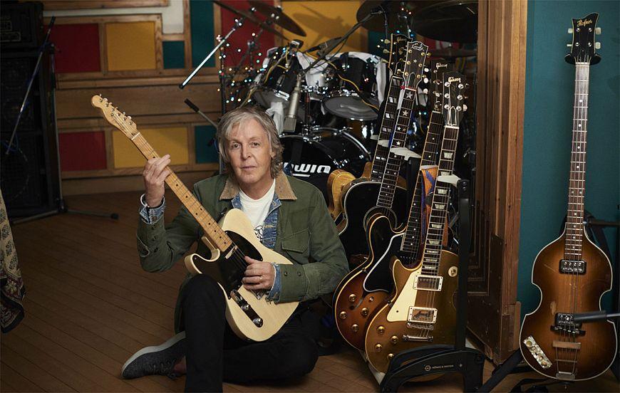 Выход нового альбома Пола Маккартни McCartney III перенесен на неделю