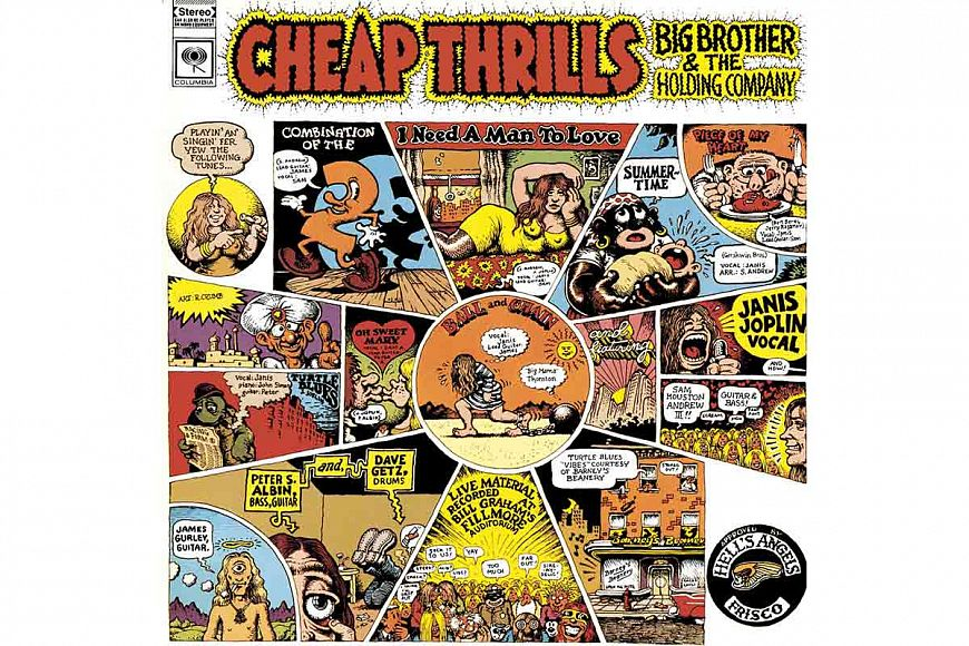 Big Brother and The Holding Company «Cheap Thrills» (1968)