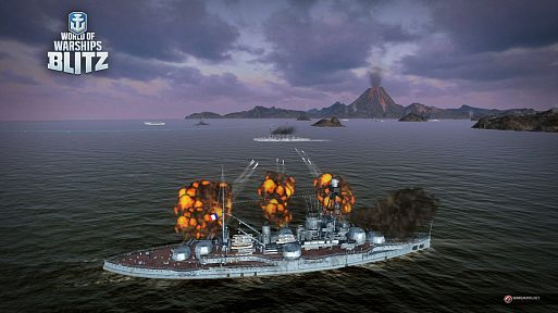 Французские линкоры в World of Warships Blitz