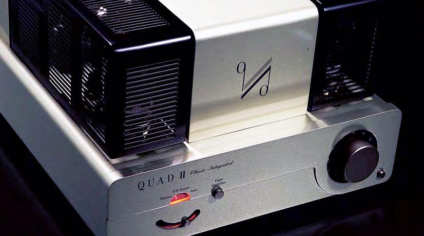 Ламповый интегральный усилитель QUAD QII-Integrated
