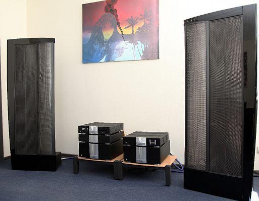 Электростатические акустические системы MartinLogan CLX Art