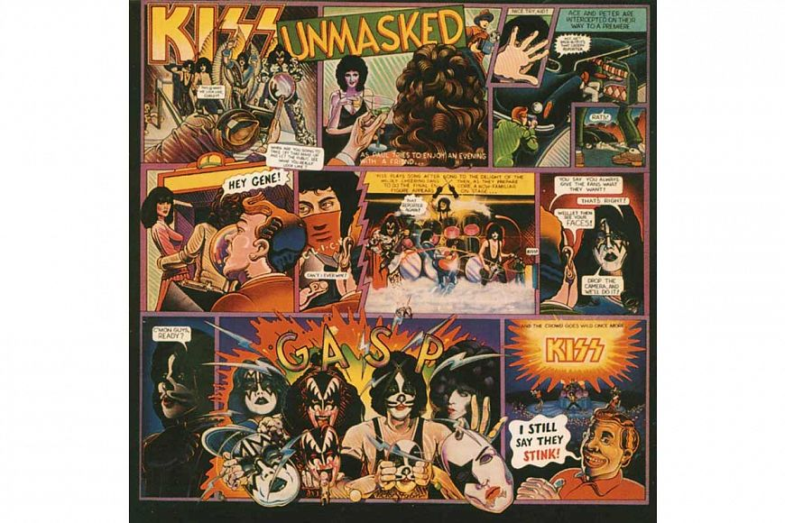 KISS «Unmasked» (1980)