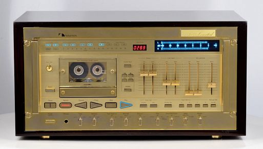 Nakamichi 1000ZXL Gold Limited Edition