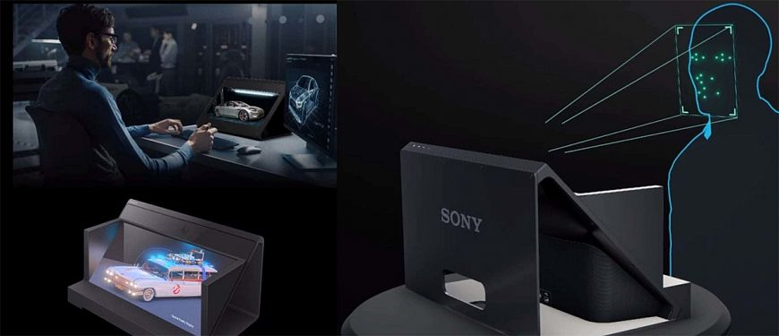 3D-дисплей Sony Spatial Reality Display