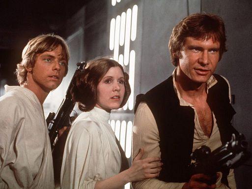 1. Звездные войны. Эпизод 4: Новая надежда / Star Wars (1977)