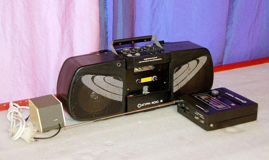 8 постсоветских кассетных плееров