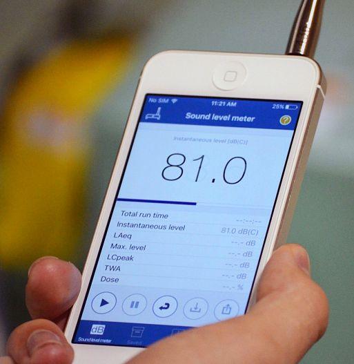 8. Не перебарщиваем со звуковым давлением, проверяем по SPL-метру