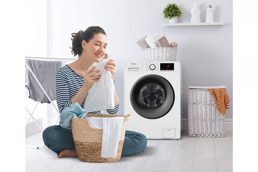 Hisense представила новые стиральные машины