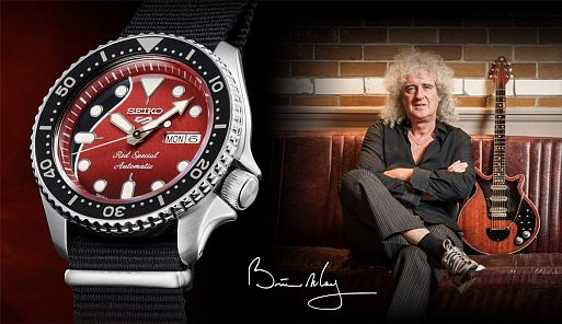 Часы Seiko 5 Sports Brian May Limited Edition