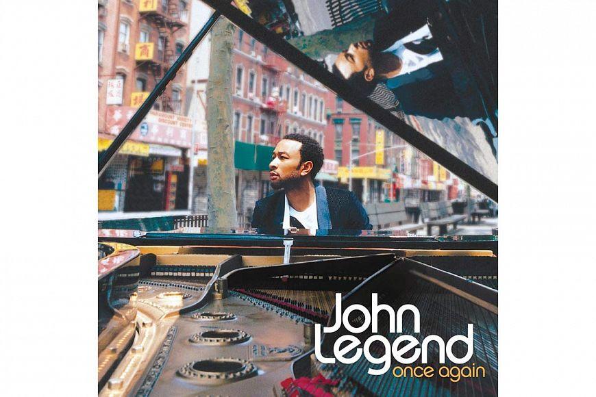 "John Legend ""Once Again"" (2006) Columbia"