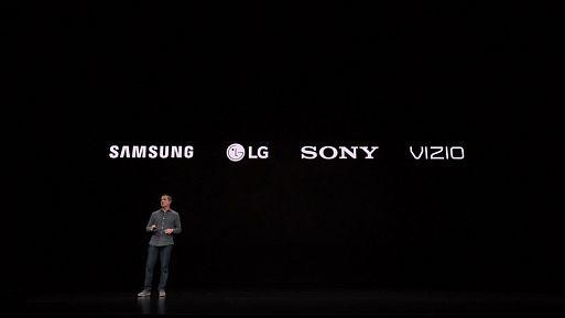 Телевизоры Sony, LG и Vizio получат приложение Apple TV