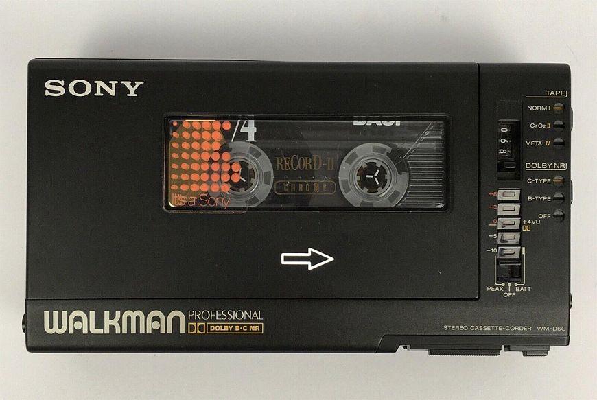 7. Sony Walkman Professional WM-D6C
