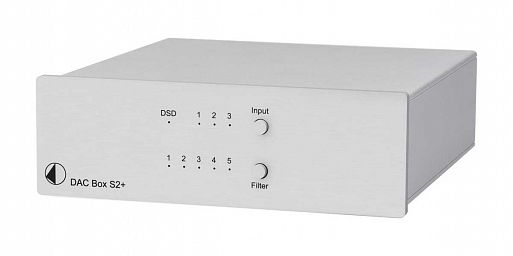 Компактный ЦАП Pro-Ject DAC Box S2+