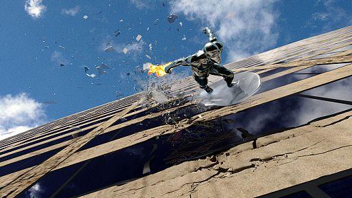 «Фантастическая четверка: Вторжение Серебряного серфера» / Fantastic Four: Rise of the Silver Surfer (2007)