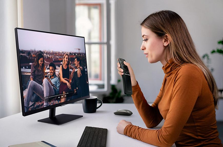 Автономный монитор Samsung LS32AM700UIXCI