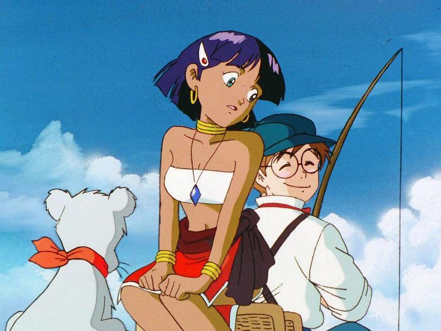 Надя с загадочного моря / Fushigi no Umi no Nadia (1990)– Япония