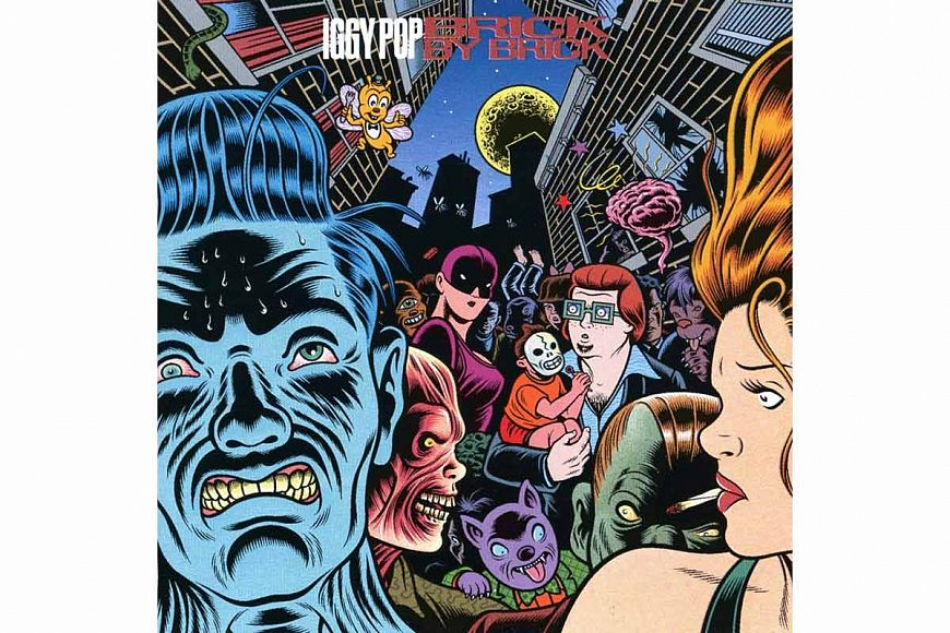 Iggy Pop «Brick by Brick» (1990)